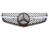Хром/черна решетка тип AMG за Mercedes E класа купе C207 2009 =>