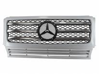 Хром решетка тип AMG за Mercedes W463 1989 =>