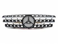 Хром/черна решетка за Mercedes M класа MLW163 1998-2005