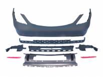 Задна AMG броня тип S63/S65 за Mercedes S класа W222 2014 => с PDC/ 2 дифузьор/ 2 накрайник -oo--oo-