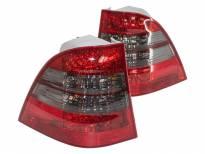 Комплект тунинг LED стопове за Mercedes M клас W163 1998-2005 с опушен мигач , ляв и десен