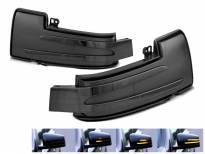 Тунинг LED мигачи за странични огледала на Mercedes G класа W463 2012-2018, ML W166 2011-2015, R класа W251 2010-2017