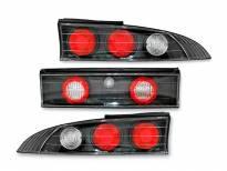 Комплект тунинг стопове за MITSUBISHI ECLIPSE 06.1995-12.1998 с черна основа , ляв и десен