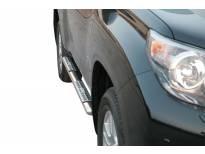 Овални дизайнерски степенки Misutonida за Toyota Land Cruiser 150 след 2009 година
