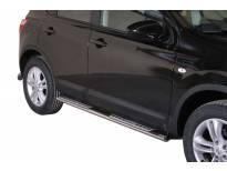 Овални дизайнерски степенки Misutonida за Nissan Qashqai 2010-2013