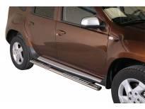 Овални дизайнерски степенки Misutonida за Dacia Duster след 2010 година