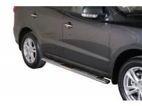 Овални дизайнерски степенки Misutonida за Hyundai Santa Fe 2010-2012