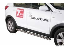 Овални дизайнерски степенки Misutonida за KIA Sportage след 2010 година