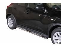 Овални дизайнерски степенки Misutonida за Nissan Juke след 2010 година