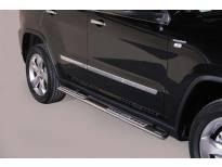 Овални дизайнерски степенки Misutonida за Jeep Grand Cherokee след 2011 година
