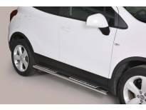 Овални дизайнерски степенки Misutonida за Opel Mokka след 2012 година