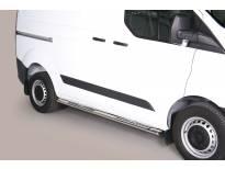 Овални дизайнерски степенки Misutonida за Ford Transit Custom L1 след 2013 година