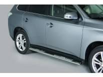 Овални дизайнерски степенки Misutonida за Mitsubishi Outlander след 2013 година
