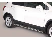 Овални дизайнерски степенки Misutonida за Chevrolet Trax след 2013 година