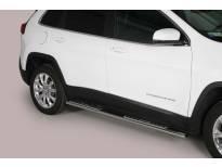 Овални дизайнерски степенки Misutonida за Jeep New Cherokee след 2014 година