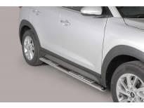 Овални дизайнерски степенки Misutonida за Hyundai Tucson след 2015 година