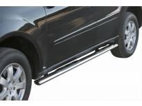 Овални степенки Misutonida със стъпала за Mercedes ML след 2006 година