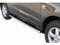 Овални степенки Misutonida със стъпала за Hyundai Santa Fe 2006-2010