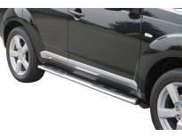 Овални степенки Misutonida със стъпала за Mitsubishi Outlander 2007-2009