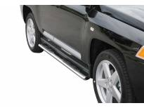 Овални степенки Misutonida със стъпала за Jeep Compass 2007-2010