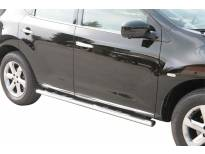 Овални степенки Misutonida със стъпала за Nissan Murano след 2008 година