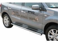Овални степенки Misutonida със стъпала за Renault Koleos след 2008 година
