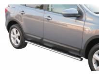 Овални степенки Misutonida със стъпала за Nissan Qashqai +2 след 2008 година