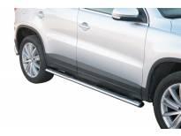 Овални степенки Misutonida със стъпала за VW Tiguan 2008-2011