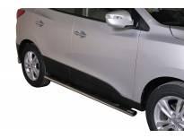 Овални степенки Misutonida със стъпала за Hyundai IX35 след 2010 година
