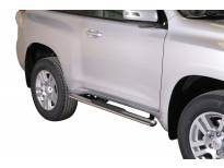 Овални степенки Misutonida със стъпала за Toyota Land Cruiser 150 3 врати след 2009 година