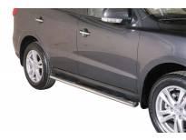 Овални степенки Misutonida със стъпала за Hyundai Santa Fe 2010-2012