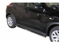 Овални степенки Misutonida със стъпала за Nissan Juke след 2010 година