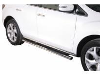 Овални степенки Misutonida със стъпала за Mazda CX7 след 2010 година