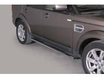 Овални степенки Misutonida със стъпала за Land Rover Discovery 4 след 2017 година