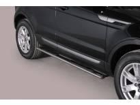 Овални степенки Misutonida със стъпала за Land Rover Range Rover Evoque Pure & Prestige след 2011 година