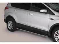 Овални степенки Misutonida със стъпала за Ford Kuga след 2013 година