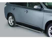 Овални степенки Misutonida със стъпала за Mitsubishi Outlander след 2013 година