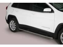 Овални степенки Misutonida със стъпала за Jeep New Cherokee след 2014 година