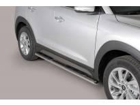 Овални степенки Misutonida със стъпала за Hyundai Tucson след 2015 година