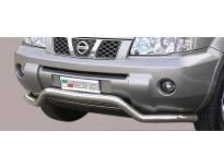Ролбар Misutonida по цялата дължина на бронята за Nissan X-Trail 2004-2007