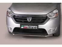Ролбар Misutonida по цялата дължина на бронята за Dacia Dokker след 2012 година