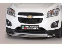 Ролбар Misutonida по цялата дължина на бронята за Chevrolet Trax след 2013 година