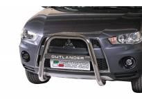Висок ролбар Misutonida с лого за Mitsubishi Outlander 2010-2012