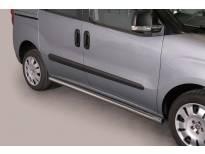 Странични протектори Misutonida за Fiat Doblo след 2010 година с метални капачки