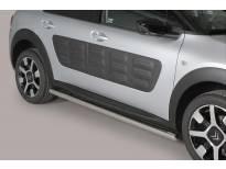 Странични протектори Misutonida за Citroen C4 Cactus след 2014 година с метални капачки