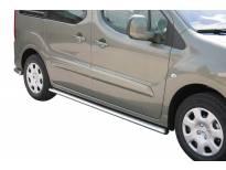 Овални Странични протектори Misutonida за Peugeot Partner след 2008 година