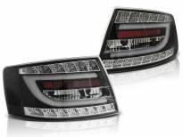 Комплект тунинг LED стопове за Audi A6 C6 04.2004-2008 седан, версия с фабрични led стопове (букса с 7 пина) , ляв и десен