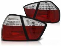 Комплект тунинг LED стопове за BMW серия 3 E90 03.2005-08.2008 червено/бели , ляв и десен