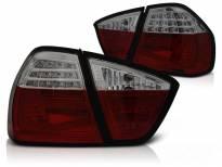 Комплект тунинг LED стопове за BMW серия 3 E90 03.2005-08.2008 червено/опушени , ляв и десен