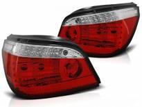 Комплект тунинг LED стопове за BMW серия 5 E60 07.2003-2007 червено/бели , ляв и десен